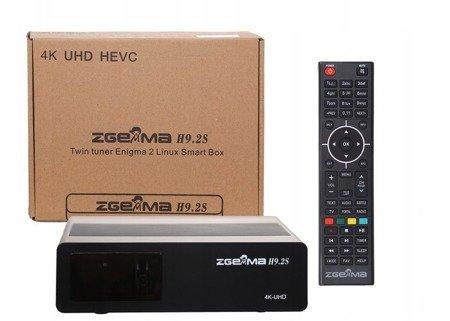 Zgemma H9.2S V.2 UHD 4K 2 SZT.